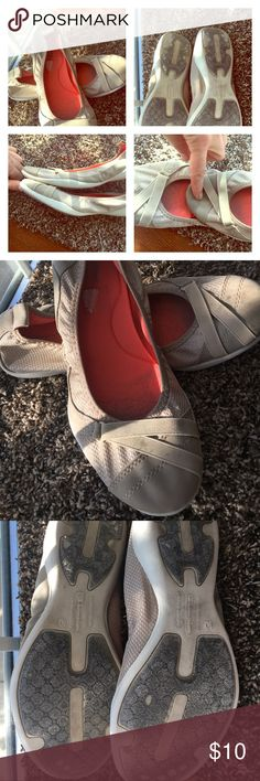 Campion slip on ballet flats These are in great shape. They have memory foam in side and are no mark soles. Champion Shoes Flats & Loafers