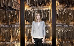 Anda Rowland, owner of Anderson & Sheppard. The only female principal on Savile Row.