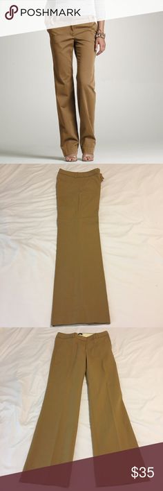 """J Crew Khaki City Fit J Crew khaki city fit pants. No signs of wear, have been dry cleaned. 30"""" inseam, 15"""" waist. Size 2 short. J. Crew Pants Trousers"""
