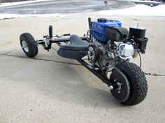 Reverse trike go kart finished pictures - DIY Go Kart Forum