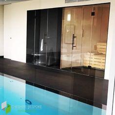 Sauna & Steam Room Glass Installation 🧖♀️🧖♂️ Sauna Steam Room, Glass Installation, Saunas, Bathroom Lighting, Bathtub, Rooms, Mirror, Furniture, Home Decor
