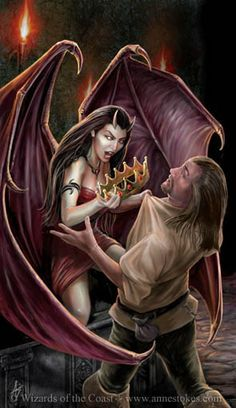pictures from Anne Stokes   Anne Stokes Corrupter at Work