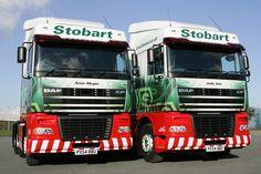 Eddie Stobart DAF Eddie Stobart Trucks, Cool Trucks, Park, Buses, Tractors, Planes, Trains, Transportation, Automobile