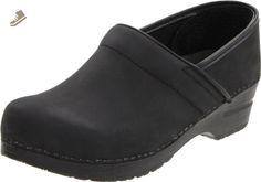 Sanita Men's Professional Oil Clog,Black,46 EU ( US Men's 12.5-13 M) - Sanita mules and clogs for women (*Amazon Partner-Link)