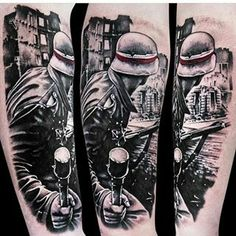 Gas Mask Tattoo, Arm Tattoo, Sleeve Tattoos, Great Tattoos, Sexy Tattoos, Tatoos, Alive Tattoo, Patriotic Pictures, Military Tattoos