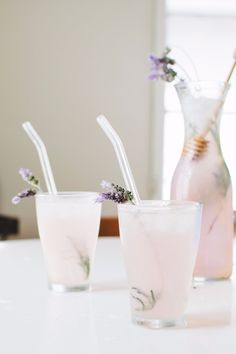 Chill Out This Summer With a Lavender Lemonade