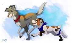 Awesome Duo by Skailla.deviantart.com on @DeviantArt