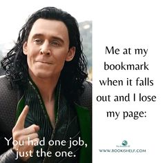 book memes One Job Funny Marvel Memes, Marvel Jokes, Dc Memes, Really Funny Memes, Stupid Funny Memes, Funny Relatable Memes, Hilarious, Book Nerd Problems, Girl Problems
