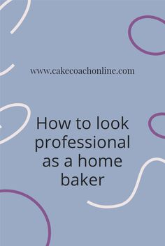 It is essential to look professional and learn what customers like too. How to run a home bakery whilst looking professional and keeping customers coming back is the name of the game. Read our blog to find out more
