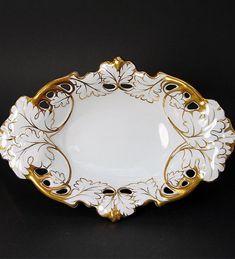 ** Starožitný porcelánový tác r.1875 **