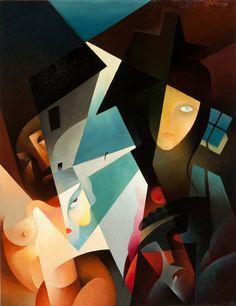 Inspiration, Ideas, Art, Tullio Crali  Rifiuti sociali, 1931. #TullioCraliKisyovaLazarinova