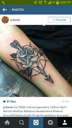 Rose/arrow