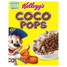 coco pops cereal packet - Google Search