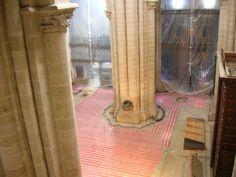 Malla radiante en Catedral de Santo Domingo de la Calzada, La Rioja,