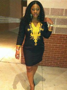 African Eminado Dress by AFRICANISEDSHOP on Etsy, £65.00