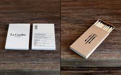La Cordée - Business Card Design Inspiration | Card Nerd