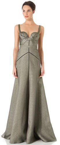 #shopbop.com              #Skirt                    #Mendel #Full #Skirt #Bustier #Gown #SHOPBOP        J. Mendel Full Skirt Bustier Gown | SHOPBOP                                   http://www.seapai.com/product.aspx?PID=605992