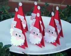 Santa Peppermint Patties
