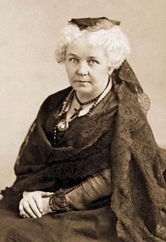 Because she fought for my right to vote and never got the chance to herself. #WhyIVote Elizabeth Cady Stanton