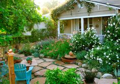 5 Inspiring Ways to Create a Cottage Style Garden - Town & Country Living