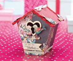 FREE birdbox gift box template! - Papercraft Inspirations