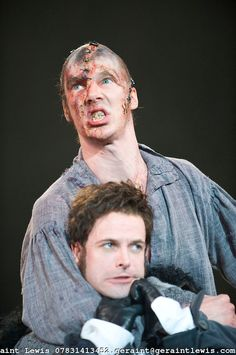 Frankenstein by Nick Dear based on the novel by Mary Shelly directed by Danny Boyle. With Benedict Cumberbatch as The Creature, Johnny Lee Miller as Victor Frankenstein . Opens at The Olivier Theatre at The Royal National Theatre on on 22/2/11 . CREDIT Geraint Lewis  COPYRIGHT:Geraint Lewis 07831413452.geraint@geraintlewis.com