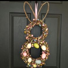 Easter Wreath found on Etsy-Ever Blooming Originals