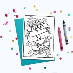 Tattoo Flash style Thank You Card. Your purchase helps support and independent, female-owned business!
