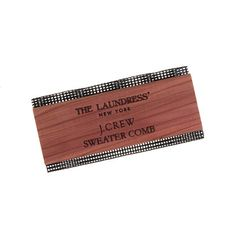 The Laundress New York® for J.Crew sweater comb - The ultimate in grooming for your sweater collection