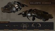 The new redesigned special Gallente Nemesis that was created for EVE Online. I was responsible for 3D modeling, baking of textures and FX work on the model.  Art Direction: Ásgeir Jón Ásgeirsson Concept & texturing: Kári Gunnarsson