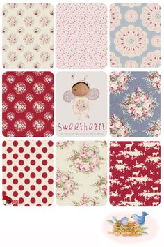 Fabric from Tilda- Sweetheart and Autumn Tree