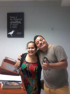 Con Teacher Karina Gomez de Intermediate 9