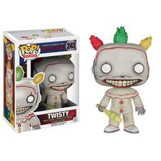 new Fallout 4 Funko Pop! Vinyl Collectibles coming soon Twisty the Clown - Coming Soon: American Horror Story Freak Show - FUNKO PopsTwisty the Clown - Coming Soon: American Horror Story Freak Show - FUNKO Pops American Horror Story Saison, American Horror Story Freak, Figurines D'action, Funk Pop, Daddy Yankee, Ahs, Doctor Doom, Figurine Naruto, Funko Pop Dolls