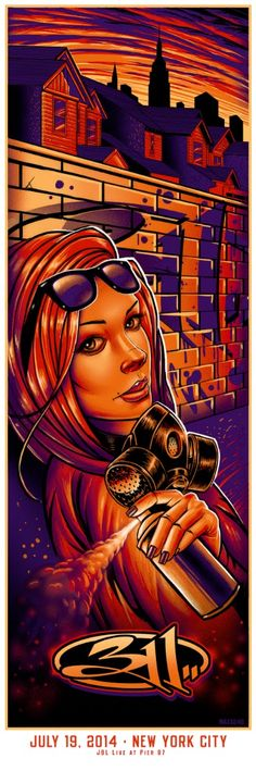 311 Maxx242 New York City Poster Release Details