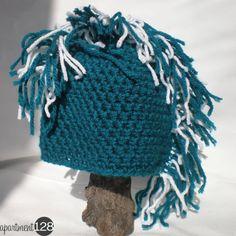 Punk Rock Newborn!  Crochet