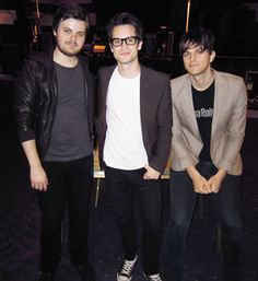 panic! at the disco, aka dallon weekes, spencer smith and brendon urie
