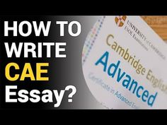 Want to know how to write a CAE Essay In 45 Minutes? Watch This Video To Know The Steps.