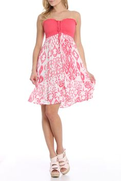 Raviya Violet Dress In Candy Pink Beyond The Rack