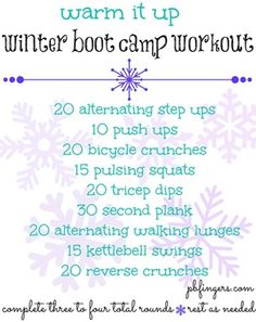 Boot Camp Workout Total Body
