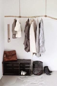 guardaroba minimal