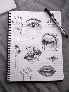 drawings grunge aesthetic drawing sketch easy favim sketches inspo draw paper journal eyes sketchbook kunst arte hoe paint couples simple