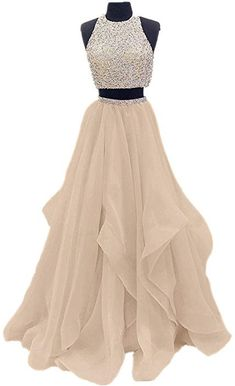 Buy Two Piece High Neck Burgundy Prom Dress Beaded Open Back Evening Gowns on sale.Shop prom or formal dresses from Promdress. Find all of the latest styles and brands in Junior's prom and formal dresses at Smilepromdress Open Back Prom Dresses, A Line Prom Dresses, Homecoming Dresses, Formal Dresses, Js Prom Gown Style, Dress Long, Dress Prom, Long Dresses, Dress Wedding