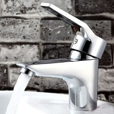 Chrome Hot/Cold Mixer Water Tap Basin Kitchen Bathroom Wash Basin Faucet Bath