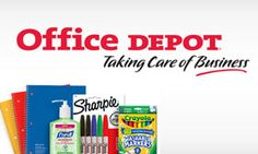 Office Depot will help you take care of all your school supply needs! Plus, with your Abenity Discount Program, you can save 15% - 30% in-store at Office Depot! https://discounts.abenity.com/perks/offer/1:41251