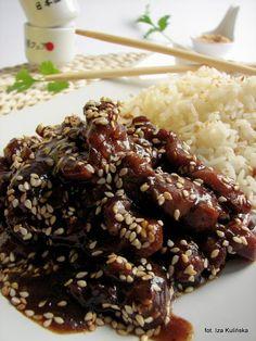 Kurczak teriyaki | Smaczna Pyza Asian Recipes, Keto Recipes, Dinner Recipes, Cooking Recipes, Love Food, Food Photography, Food Porn, Food And Drink, Healthy Eating