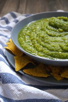 What do you do with green tomatoes? Make salsa verde! Don't waste them! Get our recipe and put those green tomatoes to good use!