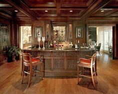 Traditional Home Bars Design Ideas, Pictures, Remodel and Decor