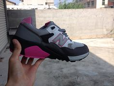 Men And Women New Balance 580 NB580 Shoes NB580 White Pink|only US$65.00 - follow me to pick up couopons.
