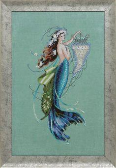 Mirabilia-Designs-MD125-Siren-And-The-Shipwreck-Chart-by-Nora-Corbett
