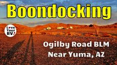 See the blog post for more details and photos - http://www.loveyourrv.com/boondocking-ogilby-road-blm-near-yuma-az/  In this video, I give you a look at our latest free dry camping spot located off Ogilby Road between Yuma, AZ and the Imperial Sand Dunes in California.